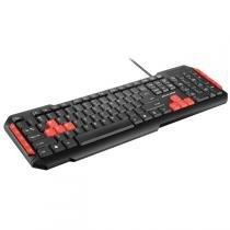 Teclado Multimidia Gamer Red Keys Usb Cabo 1,5M Tc160 Multilaser -