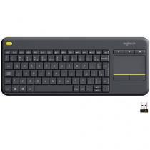 Teclado Multimídia Sem Fio USB K400 Plus - Logitech
