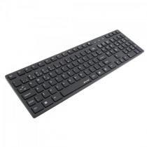 Teclado Multimídia USB ABNT2 MK-601BK SLIM Preto FORTREK -