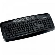 Teclado Multimídia USB MK-602BK Preto - Fortrek - Fortrek
