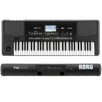 Teclado Musical Arranjador Korg PA300 61 Teclas Profissional -