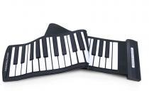 Teclado Musical Flexível 61 Teclas USB / Controlador Midi - konix - MH61 - Konix
