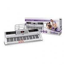 Teclado Musical Kep-61f (Teclas  Iluminadas) - Waldman -