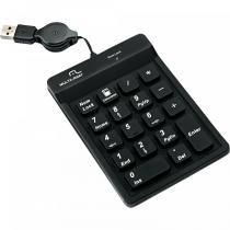 Teclado Numérico USB TC096 Preto - Multilaser - Multilaser