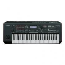 Teclado Sintetizador MOXF6BRA com Fonte Preto Yamaha -