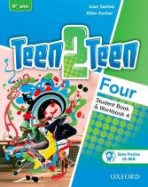 Teen2teen 4 sb/wb with extra practice cd-rom - 1st ed - Oxford university