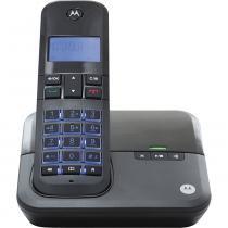 Tel sem Fio com Identificador/ Viva Voz/ Secretária Dect 6.0 Motorola M4000SE Preto - Motorola