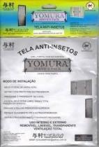 Tela mosquiteira anti-inseto para janelas Yomura 120x140cm -
