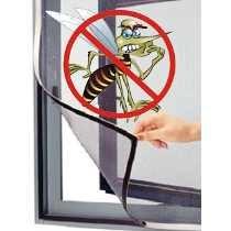 Tela mosquiteiro para portas e janelas com velcro 1x1,50m - Branyl