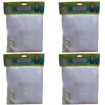 Tela protetora para janelas kit com 4 peças 100x150 YOMURA