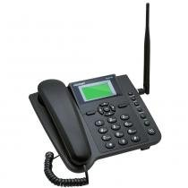 Telefone Celular de Mesa CA403G Quadriband 3G Preto - Aquário -
