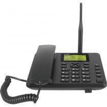 Telefone Celular de Mesa com Identificador Viva Voz Dual Chip Intelbras CF 5002 - Preto -