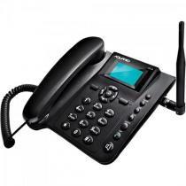 Telefone celular de mesa quadriband ca40 preto aquario -