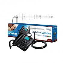 Telefone Celular Rural Kit Aquário - Aquarios