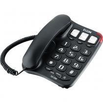 Telefone com Bloqueador e Viva Voz Elgin TCF2300 Preto -