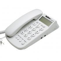 Telefone Com Fio Company e ID de Chamada Branco - Multitoc - Multitoc