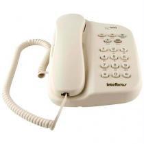 Telefone Com Fio E Chave De Bloqueio Pérola Tc500 Intelbras -