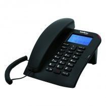 Telefone com fio e com identificação de chamadas e viva-voz - Intelbras