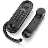 Telefone com Fio Elgin Gôndola TCF 1000, Preto - Elgin
