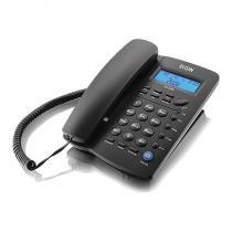Telefone Com Fio Elgin Indentificador De Chamadas Agenda Para 12 Números Tcf 3000 Preto -