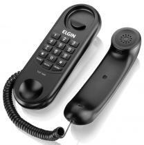 Telefone Com Fio Elgin Modelo Gôndola TCF1000 Preto -