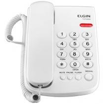 Telefone com Fio Elgin TCF 2000 - Chave Bloq. Branco