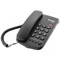 Telefone Com Fio Elgin TCF-2000 Com Chave de bloqueio-Preto -