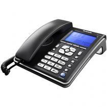 Telefone com Fio Ibratele Capta Phone Top - com Identificador de Chamadas com Viva Voz Preto