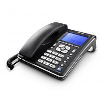 Telefone com Fio Identificador de Chamadas DTMF e FSK  Ibratele -