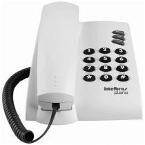 Telefone Com Fio Intelbras Pleno - Chave Bloq. Cinza