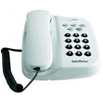 Telefone com Fio Intelbras TC 500 - Branco Ártico -