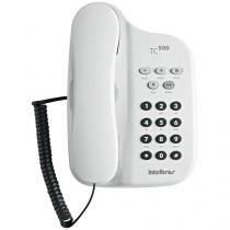 Telefone Com Fio Intelbras TC 500 - Chave Bloq. Branco