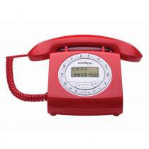 Telefone com Fio Intelbras TC 8312 4030162 Vermelho - Intelbras