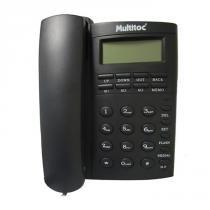 Telefone com Fio Office ID 929L Grafite - Multitoc - Multitoc