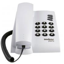 Telefone com Fio Pleno com Chave Cinza Ártico Intelbras - Intelbras