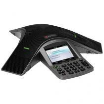 Telefone Com Fio Polycom CX 3000 Microsoft Lync - de Mesa com Viva Voz Charcoal