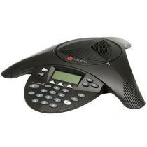 Telefone Com Fio Polycom SoundStation 2 - Viva Voz Charcoal
