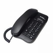 Telefone com Fio Studio Preto - Multitoc - Multitoc