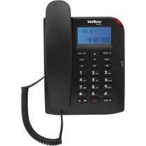 Telefone com Fio TC 60 ID Bina Identificador de Chamadas Intelbras Preto -