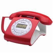 Telefone com Fio TC8312 Viva-Voz Vermelho - Intelbras -