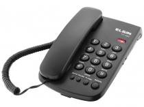 Telefone com Fio TCF 2000 Preto - Elgin - Elgin