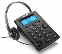 Telefone com Headset Elgin HST-8000 - com Identificador de Chamadas - 42HST8000000 -
