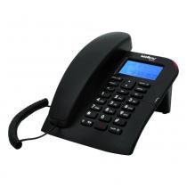 Telefone com Identificador/Viva Voz Intelbras TC60ID Preto - Intelbras