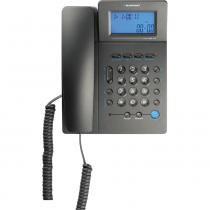 Telefone de Mesa com Identificador e Viva-Voz e Bloqueador Blaupunkt F-2046 - Preto -