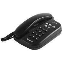 Telefone de Mesa Preto TC500 - Intelbras -