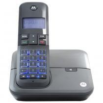 Telefone DECT sem fio Digital Motorola com ID de Chamada Bivolt MOTO4000 - 110V - Motorola