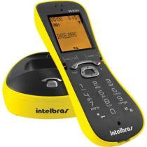 Telefone Digital Sem Fio Cor Amarelo Ts8220 Intelbras -
