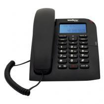 Telefone Fixo com Identificador de Chamadas TC60ID Preto Intelbras 4000074 -