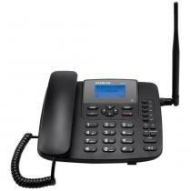 Telefone Fixo Intelbras CF6031, 3G, Função Modem 3G - Preto -