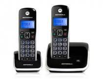 Telefone Fixo Motorola Auri 3500, Preto e Prata, MRD2, Ramal, Identificador de chamadas, Viva-voz - Motorola
